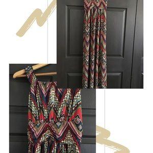 4/$25 Bohemian Style Maxi Dress